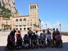 Photo de groupe à Montserrat